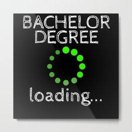 Bachelor Degree Loading Graduation 2020 Metal Print