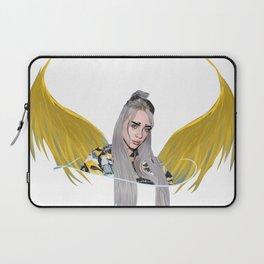 Billie Eilish Artwork With Wings Laptop Sleeve