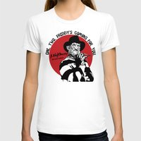 freddy krueger T-shirts featuring Freddy K quote by Buby87