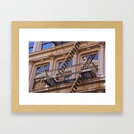 Reflections in SoHo, NYC Framed Art Print