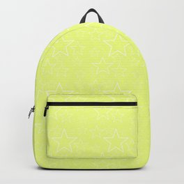 Black and Yellow Stars Backpack