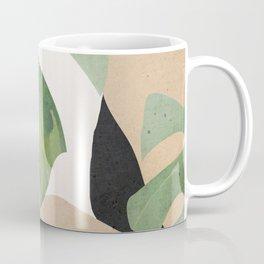 Abstract Art Tropical Leaves 3 Coffee Mug