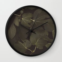 Botanical I _ Night Wall Clock