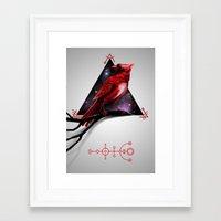 cardinal Framed Art Prints featuring Cardinal by MyArti