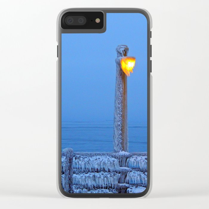 Frosted Light and Ship Clear iPhone Case
