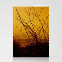 north carolina Stationery Cards featuring North Carolina Dunes by Madison Genevieve