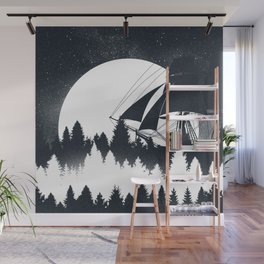 Forest Wave Wall Mural