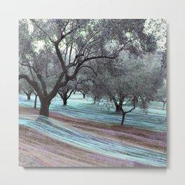 fishing olives vintro-2 Metal Print