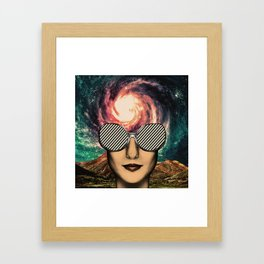 the Sun Framed Art Print