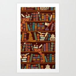 Hogwarts Things Art Print