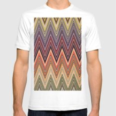 MISSONI White MEDIUM Mens Fitted Tee