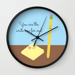 Write One Wall Clock