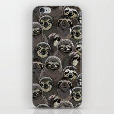 Social Sloths iPhone & iPod Skin