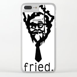 fried Clear iPhone Case