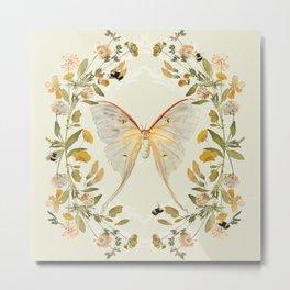 The Hum of Bees Metal Print