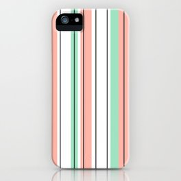 stripes pattern iPhone Case