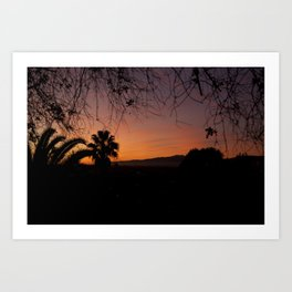 Natures Frame Art Print