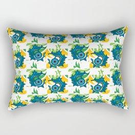 Geo Eyes Rectangular Pillow