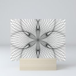 Sacred Geometry Flower - C11281 Mini Art Print