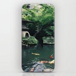 Happoen Garden iPhone Skin