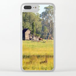 Life on the Land Clear iPhone Case