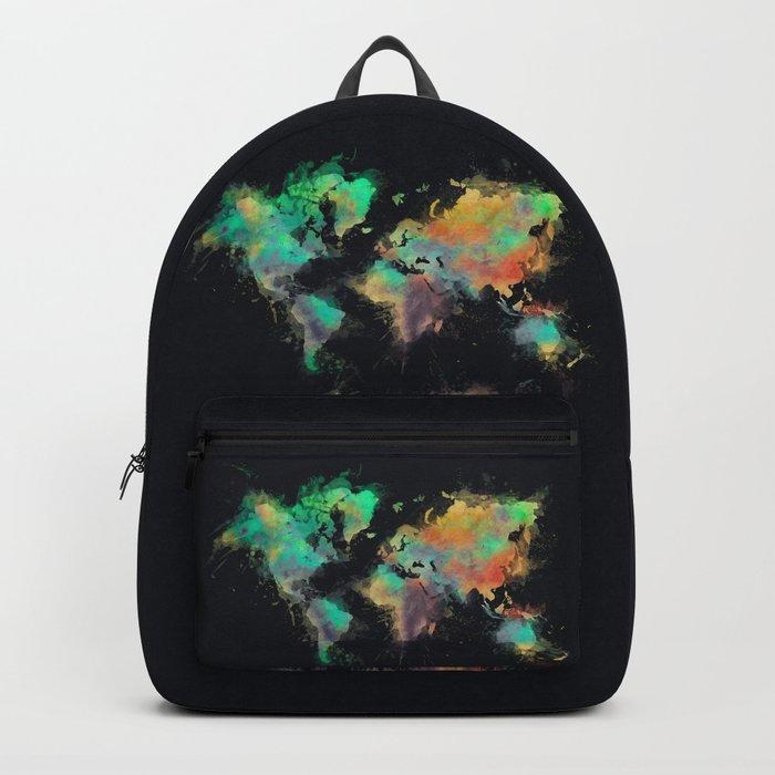 World Map 107 Worldmap Map Backpack By Jbjart Society6