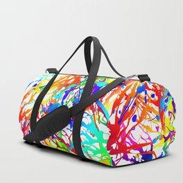 Tickled - white Duffle Bag