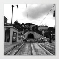 Duboce Tunnel Again Canvas Print
