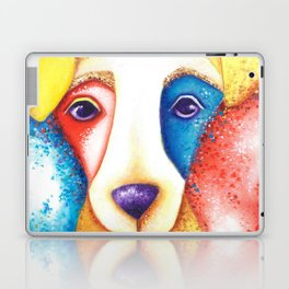 Dog Jack Russell Terrier JRT Original Art Confetti Laptop & iPad Skin