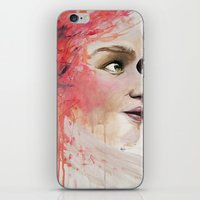 emily rickard iPhone & iPod Skins featuring Emily by Autumn Chiu