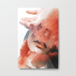 Girl: Solace in Diversion Metal Print