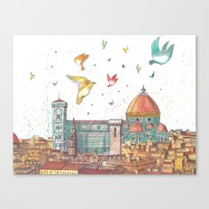 Colors of Florence Canvas Print