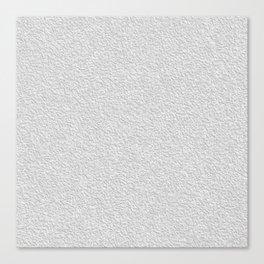 White grey stucco texture Canvas Print