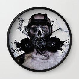 Zombie Warrior Wall Clock