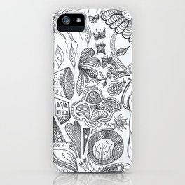 Worm King iPhone Case