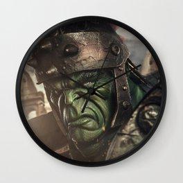 Planet Hulk Wall Clock