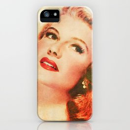 Rita Hayworth iPhone Case