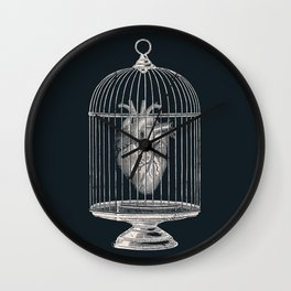 Free My Heart Wall Clock