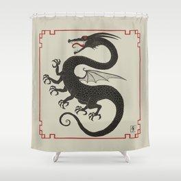 Rampant Dragon Shower Curtain