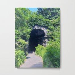 secret garden tunnel Metal Print