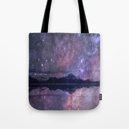 Space and time Tote Bag
