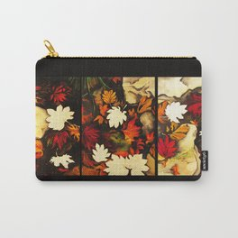 Autumn in Water -tryptich Carry-All Pouch