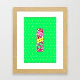 Hoverboard Framed Art Print