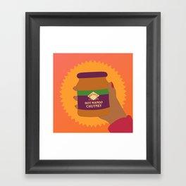 Mango Chutney Framed Art Print
