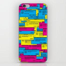 Designer Dialogues PS3 iPhone Skin