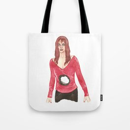 Death Becomes Helen Tote Bag