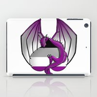 asexual iPad Cases featuring Asexual Wyvern by (i)Rene