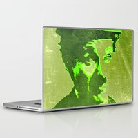 charlie chaplin Laptop & iPad Skins featuring Charlie Chaplin by Pedro Nogueira