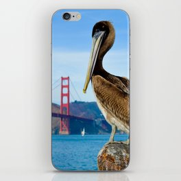 Pelican & Golden Gate iPhone Skin