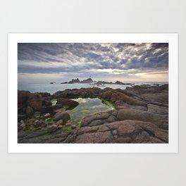 Corbiere Lighthouse Jersey Art Print